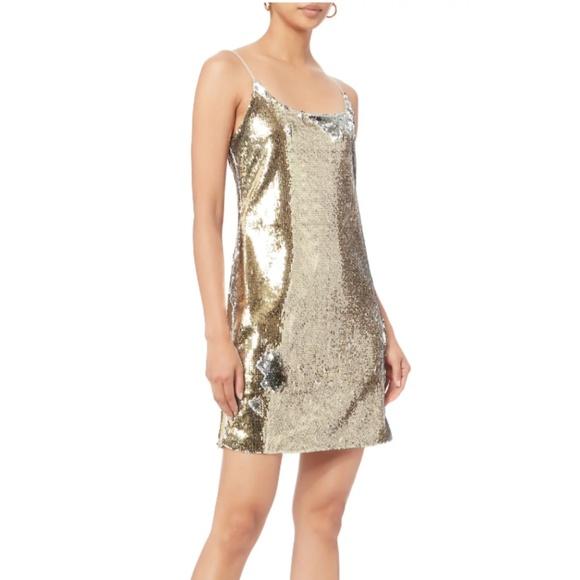 ec8eca6d280c Designers Remix Dresses | Gold Sequin Mini Dress | Poshmark